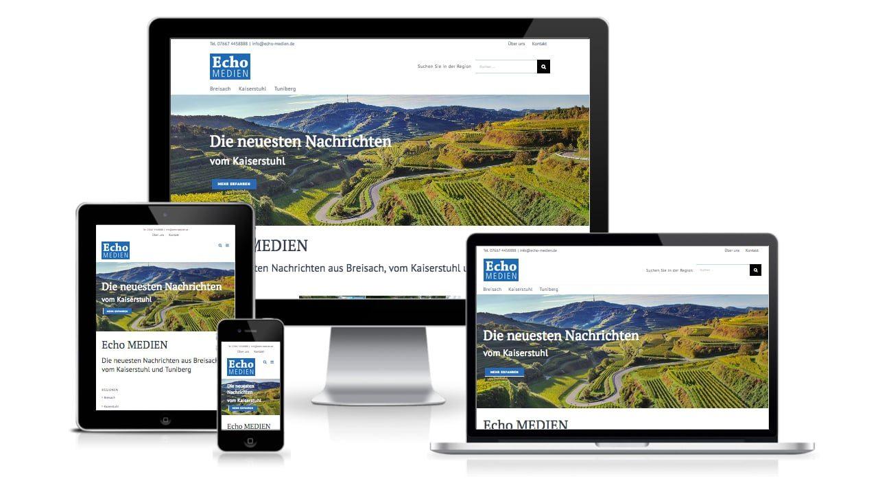 responsive webdesign echo medien