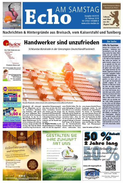 E Paper Cover Echo Medien Ausgabe 04 2018