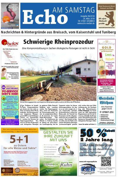 E Paper Cover Echo Medien Ausgabe 06 2018