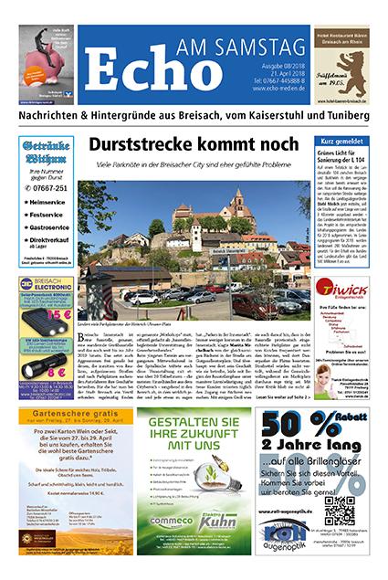 E Paper Cover Echo Medien Ausgabe 08 2018