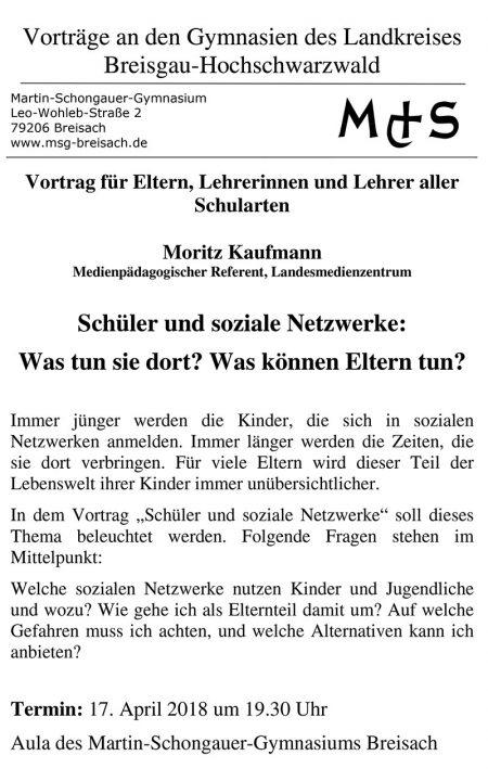 Msg Vortrag Soziale Netzwerke