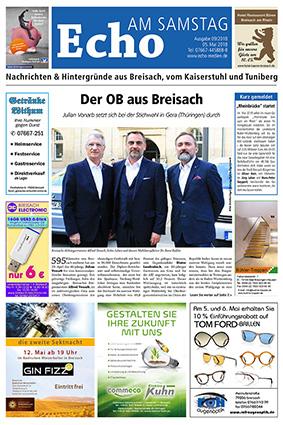 E Paper Cover Echo Medien Ausgabe 09 2018
