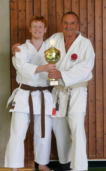 Marius Werz Karate Deutscher Meister