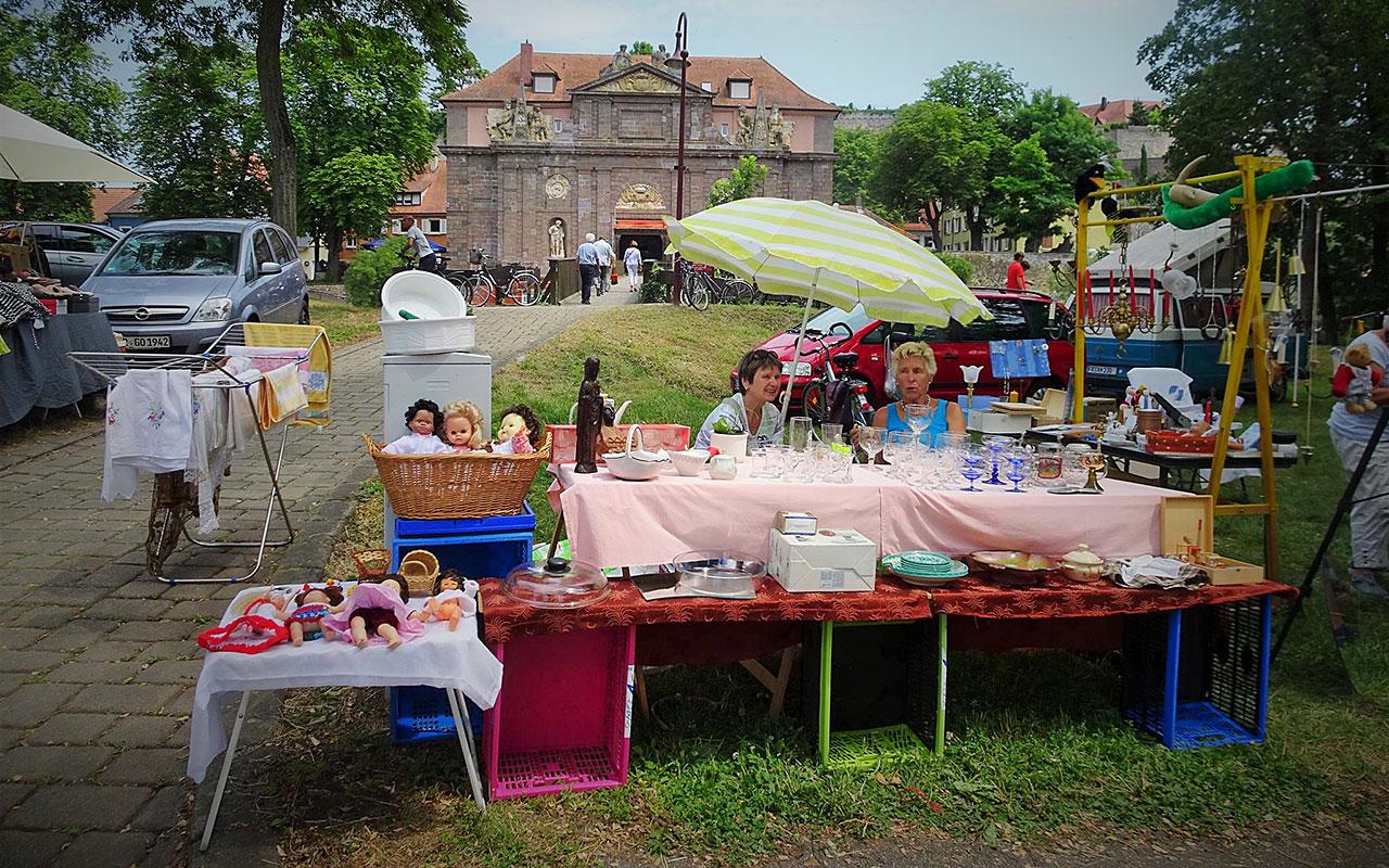 Riesenflohmarkt Breisach