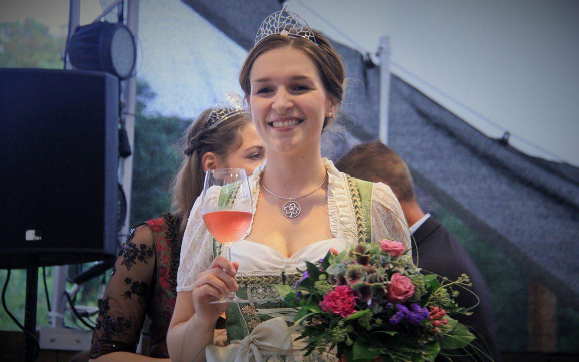 Bereichsweinprinzessin Katrin Schmidt