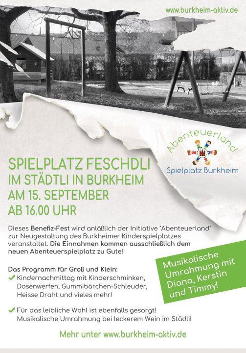 Spielplatzfest Burkheim