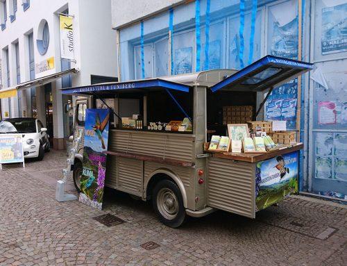 Info Truck wirbt für den Kaiserstuhl