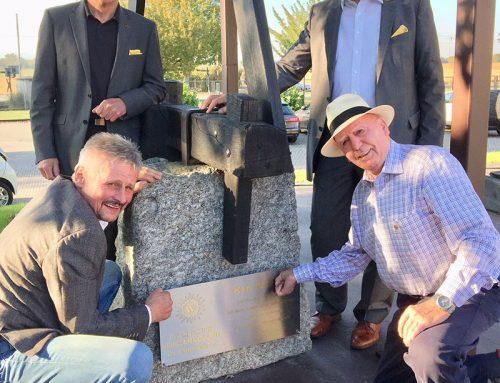 Trotten-Kunst im Winzerkeller – Karl Falkner für künstlerisches Gesamtwerk geehrt