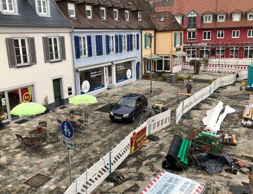 Parkgenie am Marktplatz