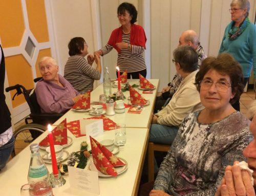 Weihnachtsfeier der Senioren im Sankt Hildegard