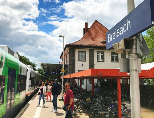 Busse statt Bahn heißt es jetzt vom 1. Februar an zwischen Breisach und Freiburg