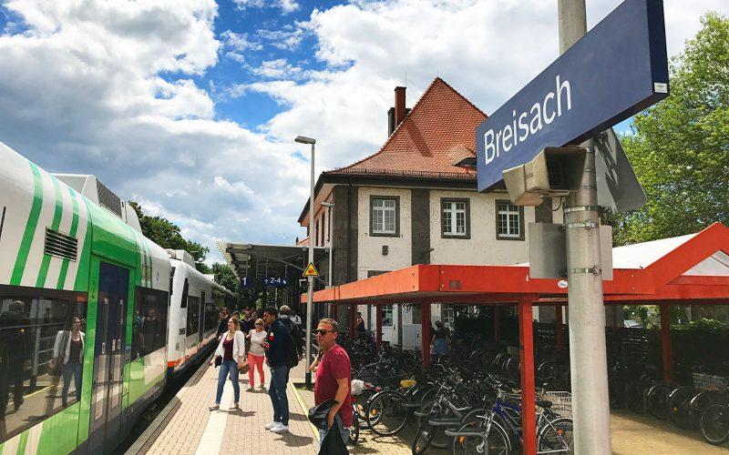 Busse Statt Bahn Heißt Es Jetzt Vom 1 Februar An Zwischen Breisach