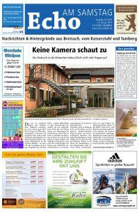 E Paper Cover Echo Medien Ausgabe 01 2019