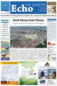 E Paper Cover Echo Medien Ausgabe 02 2019