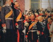 Kroenung Kaiser Wilhelm