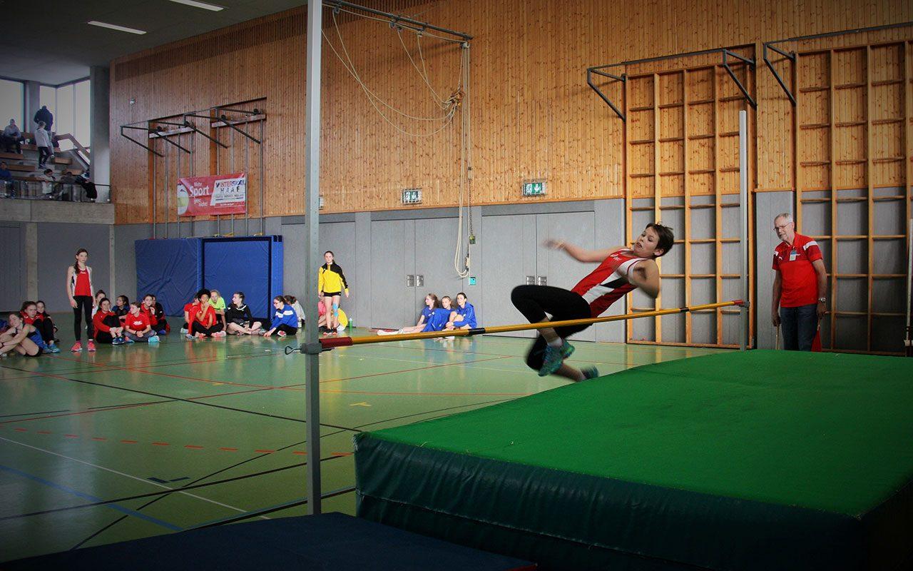 Leichtathletik Hochsprung
