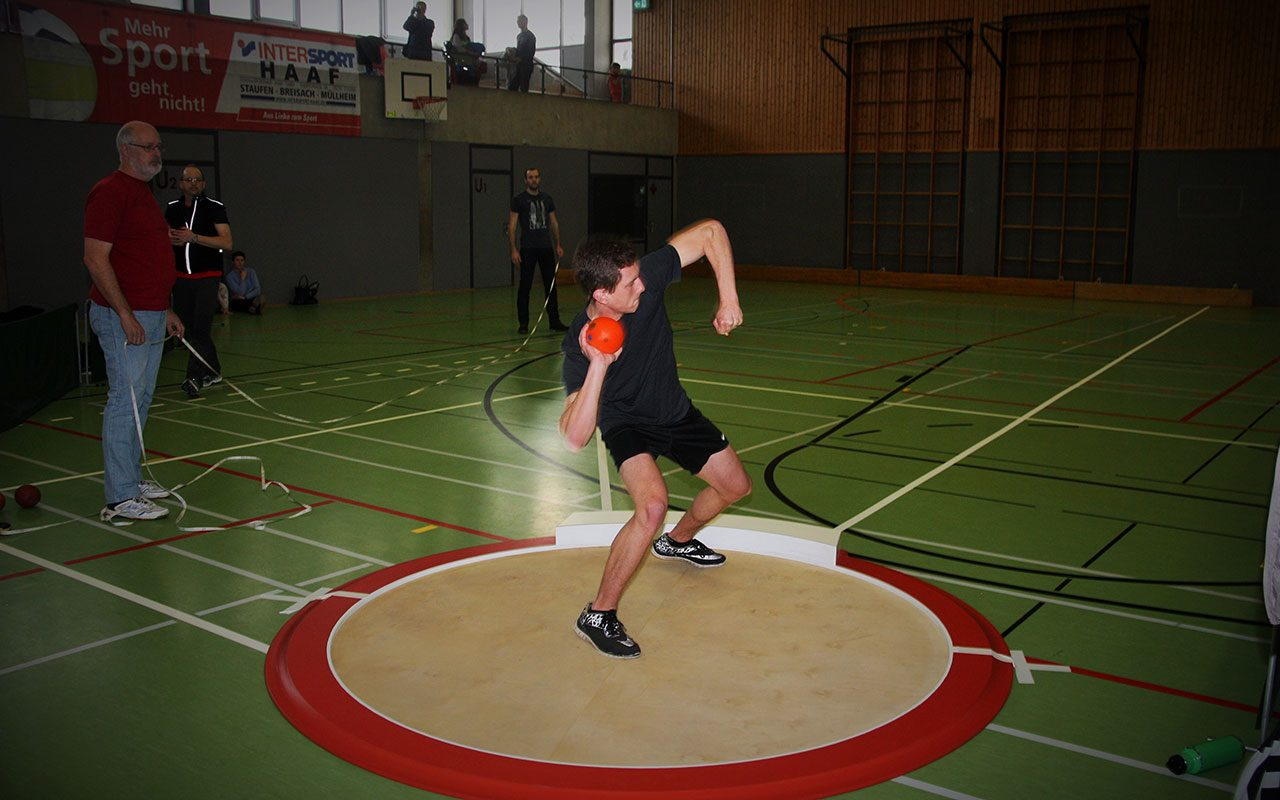 Leichtathletik Kugelstossen