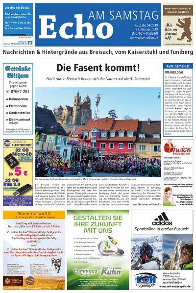 E Paper Cover Echo Medien Ausgabe 04 2019