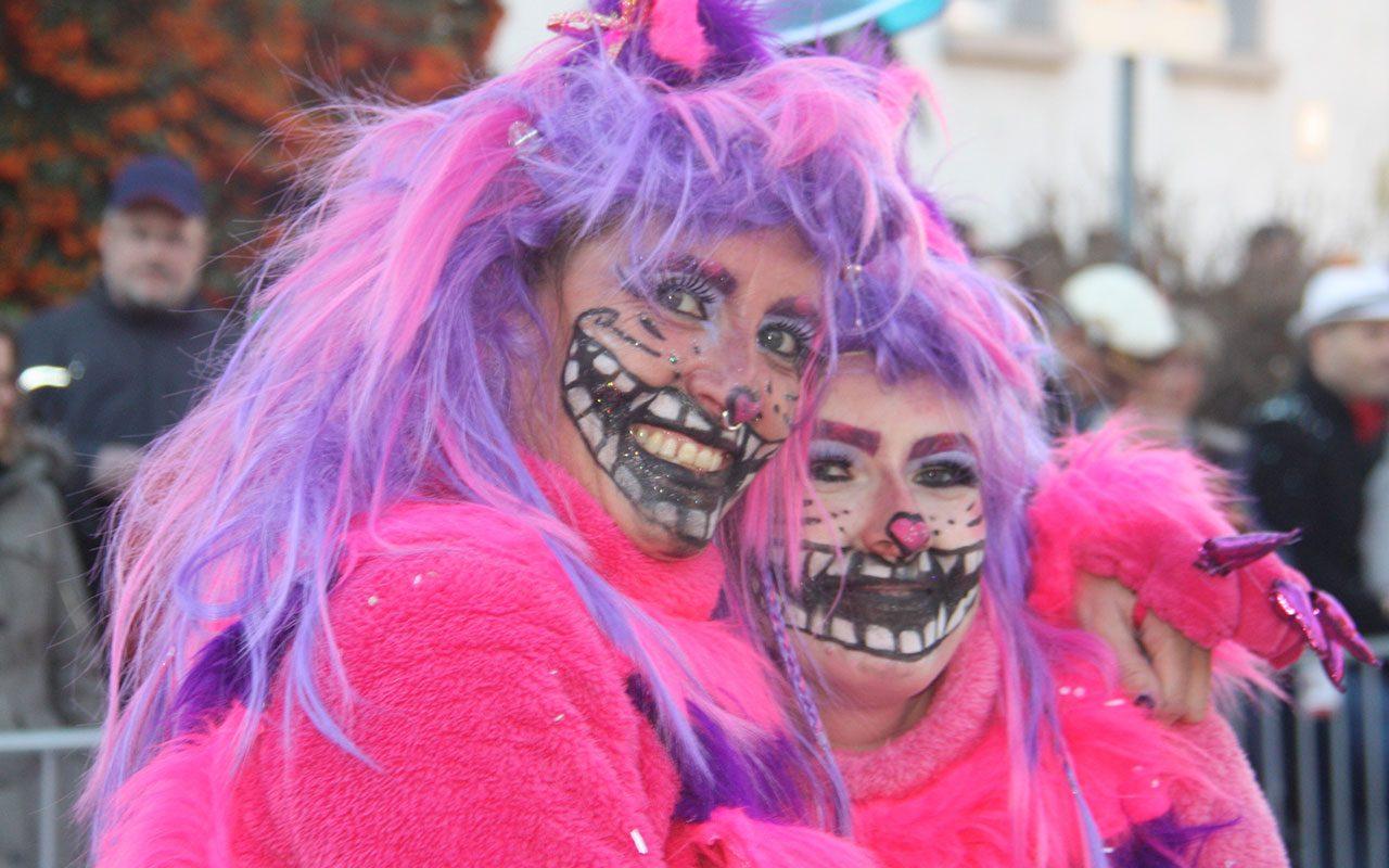 Merdingen Umzug Pink