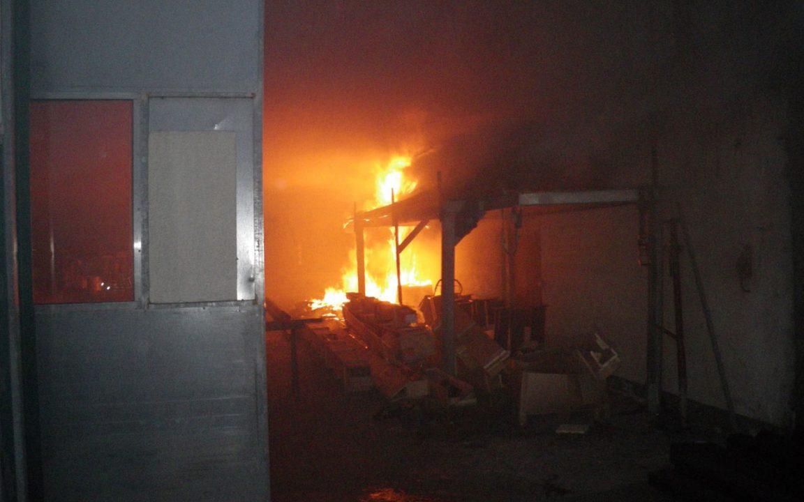 Brand Gelbstein Halle