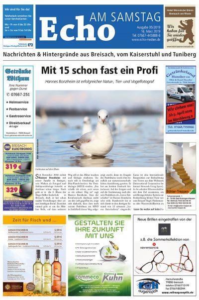 E Paper Cover Echo Medien Ausgabe 05 2019