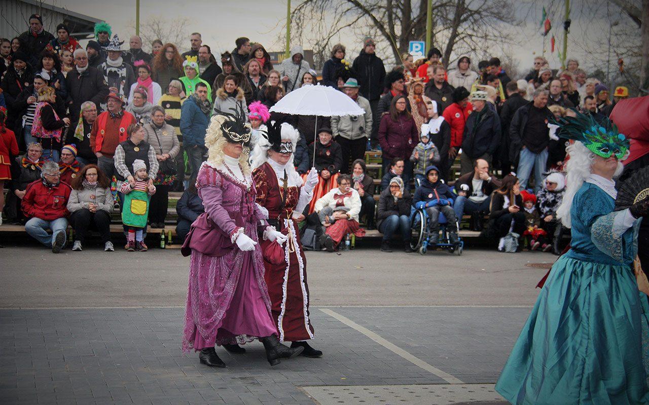 Karneval Venedig Gauklertage Breisach