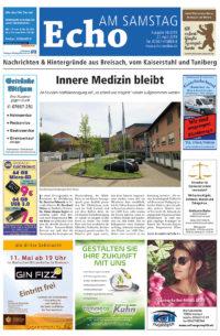 E Paper Cover Echo Medien Ausgabe 08 2019