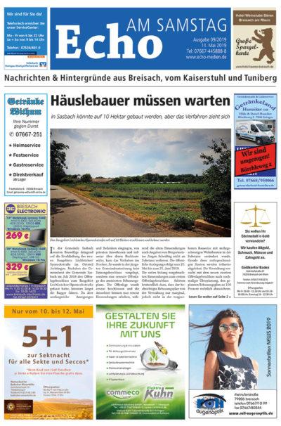 E Paper Cover Echo Medien Ausgabe 09 2019