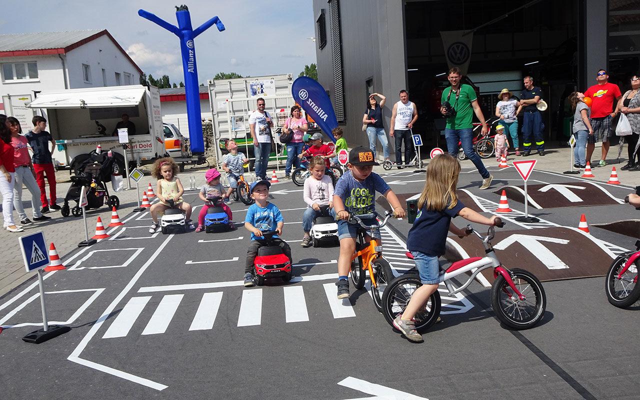 Kinderverkehr Leistungsschau Breisach