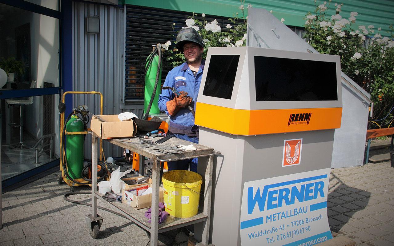 Werner Metallbau Leistungsschau Breisach