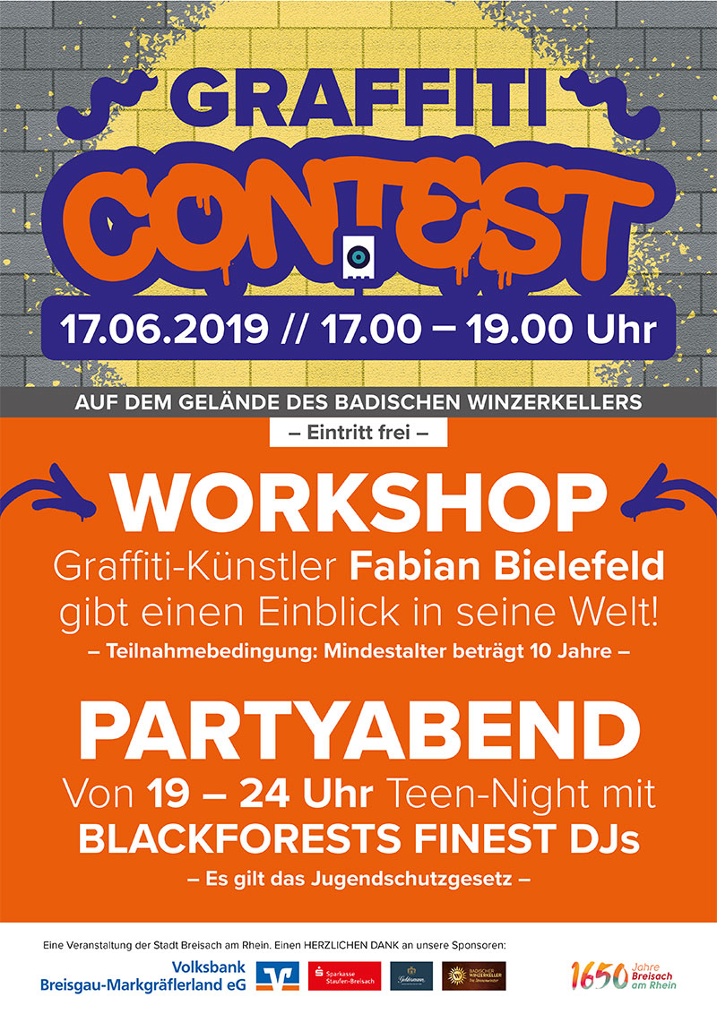 Graffiti Contest 2019 Winzerkeller
