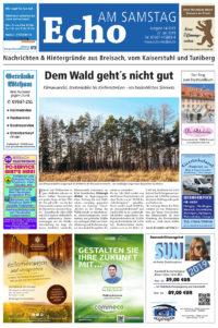 E Paper Cover Echo Medien Ausgabe 15 2019