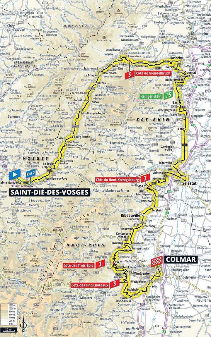 Tour De France Strecke02
