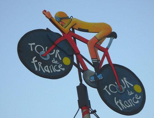 Tour de France quasi vor unserer Haustüre