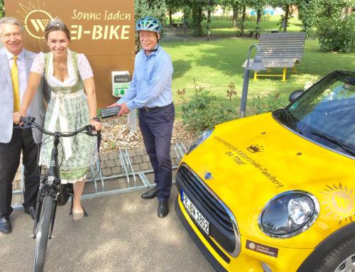 Sonnenwinzer E-Bike Station eingeweiht