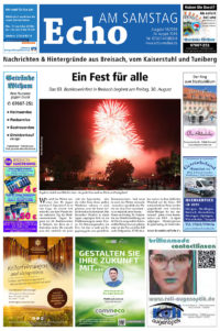 E Paper Cover Echo Medien Ausgabe 16 2019