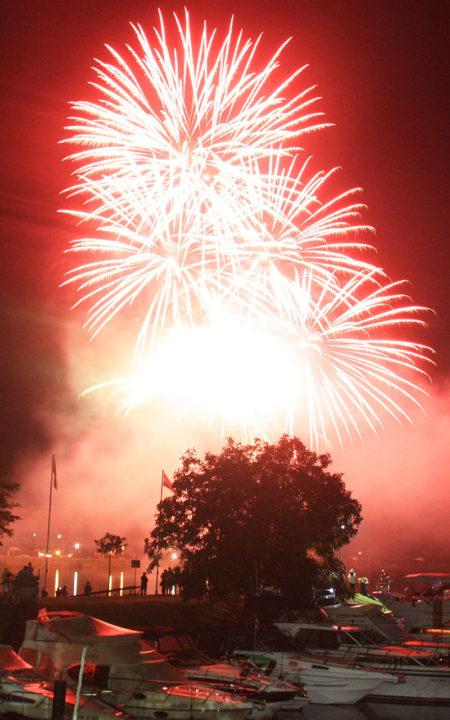 Weinfest Feuerwerk
