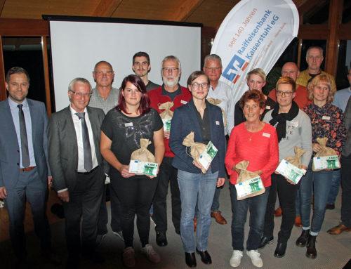 Raiffeisenbank Kaiserstuhl: Ein Freudentag für die Vereine
