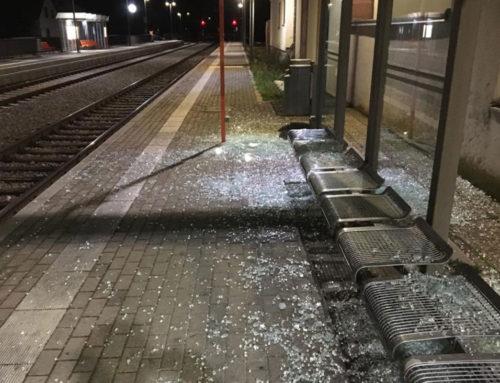 Vandalismus und gefährliche Eingriffe in den Bahnverkehr auf der Kaiserstuhlbahn