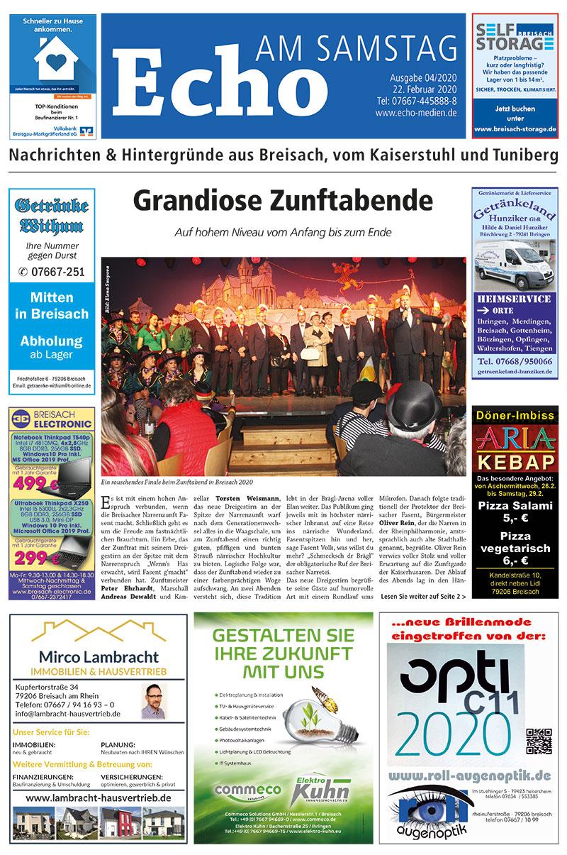 E Paper Cover Echo Medien Ausgabe 04 2020
