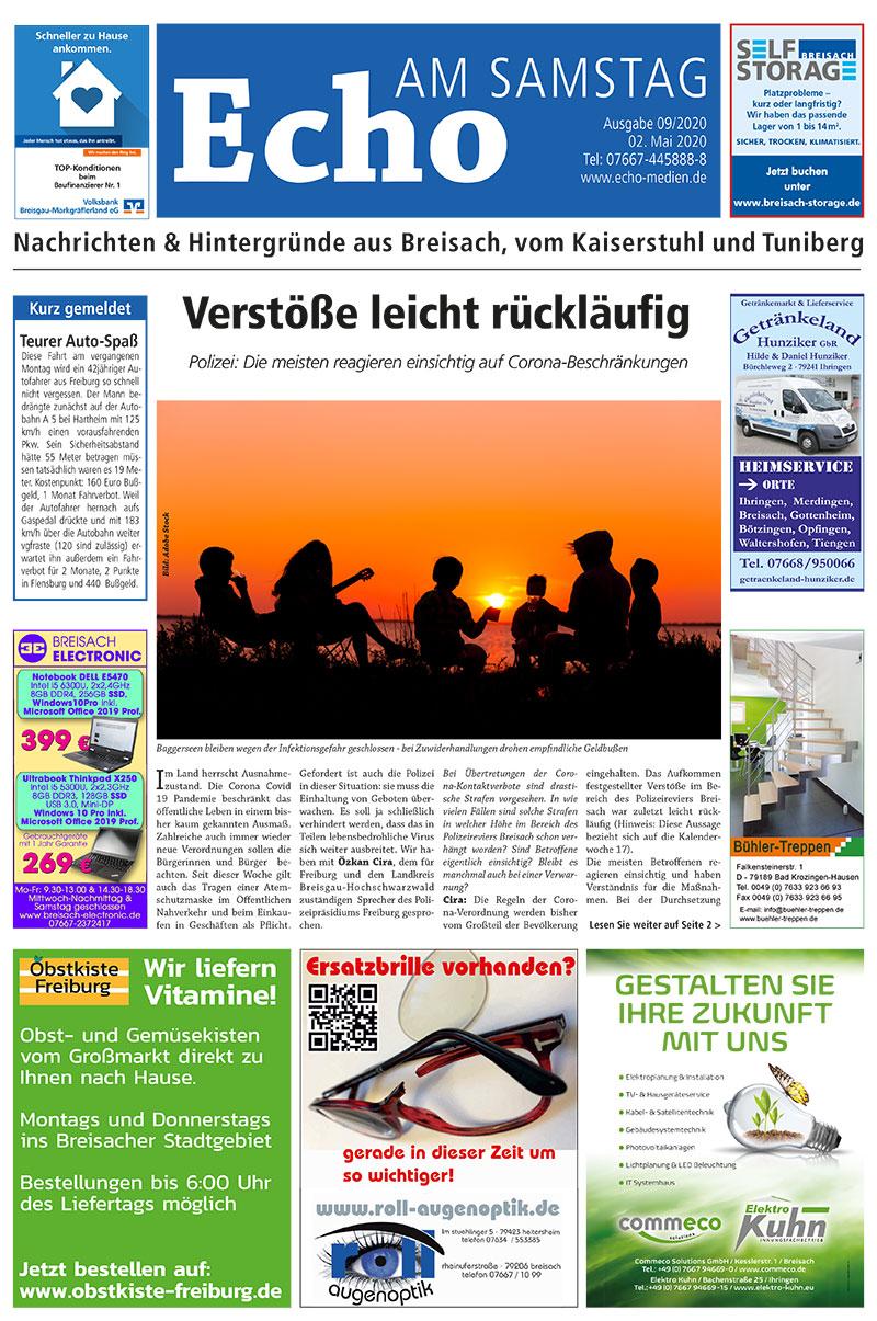 E Paper Cover Echo Medien Ausgabe 09 2020