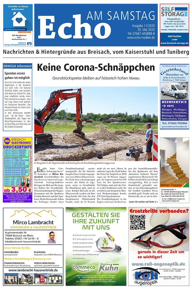 E Paper Cover Echo Medien.ausgabe 11 2020