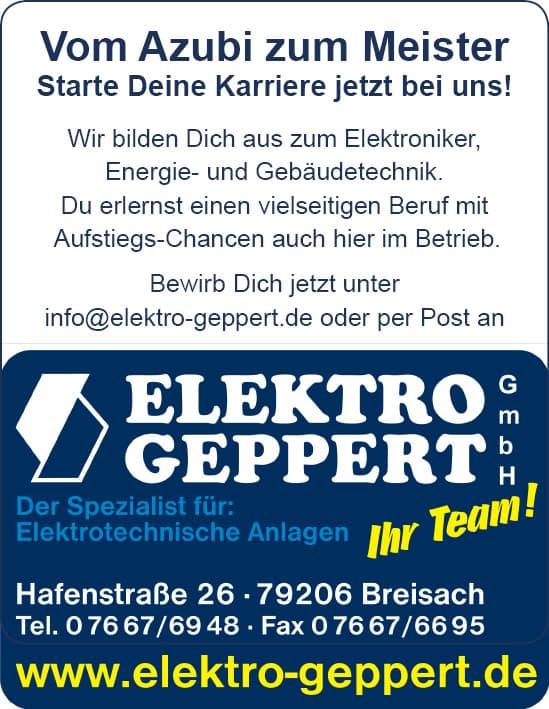 Geppert Elektro Azubis