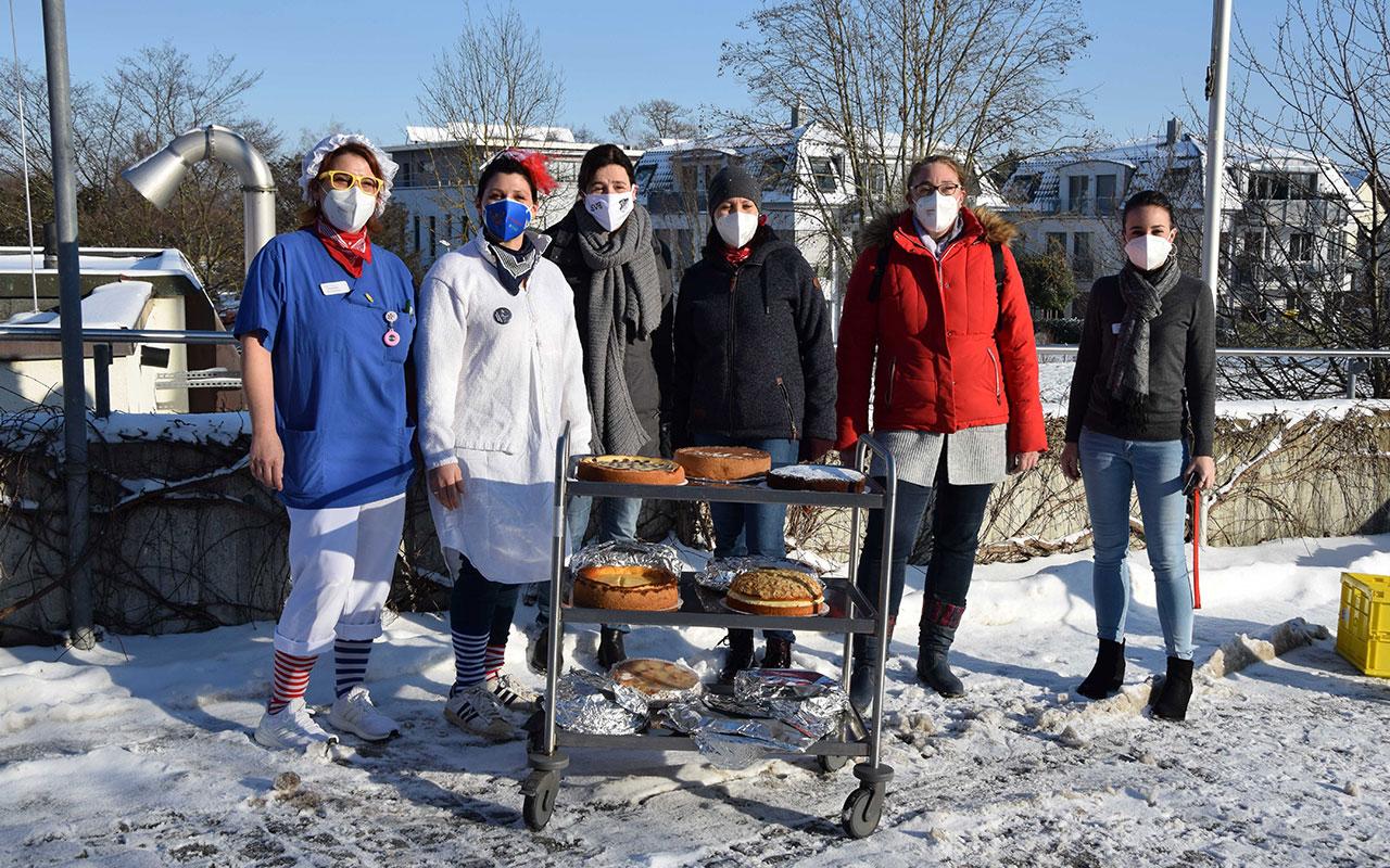 Kuchenspende Sv Breisach Helios Klinik
