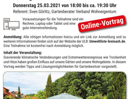 """""""Garten in Zeiten des Klimawandels"""""""