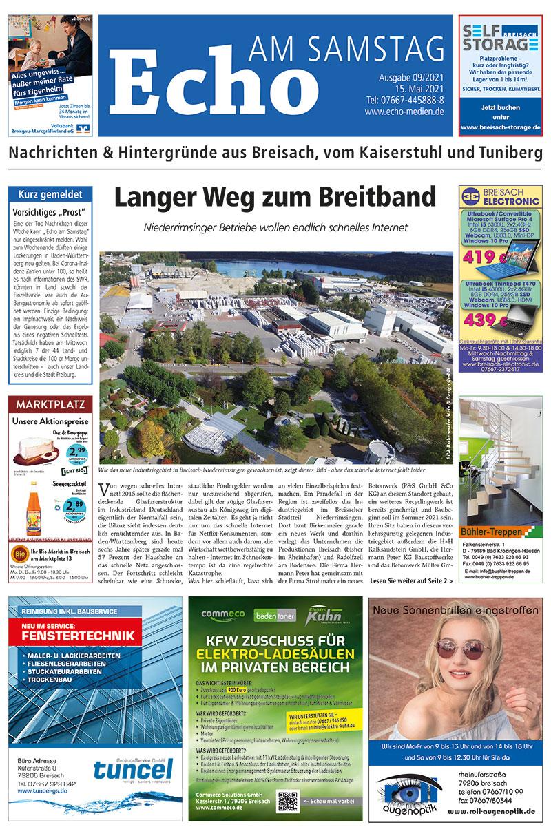E Paper Cover Echo Medien Ausgabe 09 2021